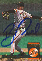 Ben McDonal Baltimore Orioles 1994 Donruss Autographed Card. This item comes with a certificate of authenticity from Autograph-Sports. PSM-Powers Sports Memorabilia