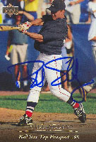 Bill Selby Lynchburg Red Sox - Red Sox Affiliate 1994 Upper Deck Top Prospect Autographed Card - Minor League Card. This item comes with a certificate of authenticity from Autograph-Sports. PSM-Powers Sports Memorabilia