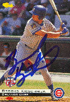 Brooks Kieschnick Orlando Cubs - Cubs Affiliate 1994 Classic Autographed Card - Minor League Card. This item comes with a certificate of authenticity from Autograph-Sports. PSM-Powers Sports Memorabilia