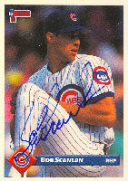 Bob Scanlan Chicago Cubs 1993 Donruss Autographed Card. This item comes with a certificate of authenticity from Autograph-Sports. PSM-Powers Sports Memorabilia