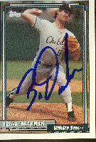 Brian Drahman Vancouver Canadians - White Sox Affiliate 1992 Topps Autographed Card - Minor League Card. This item comes with a certificate of authenticity from Autograph-Sports. PSM-Powers Sports Memorabilia