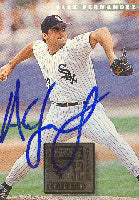 Alex Fernandez Chicago White Sox 1995 Donruss Autographed Card. This item comes with a certificate of authenticity from Autograph-Sports. PSM-Powers Sports Memorabilia