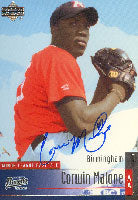 Corwin Malone Birmingham Barons - White Sox Affiliate 2002 Upper Deck Autographed Card - Minor League Card. This item comes with a certificate of authenticity from Autograph-Sports. PSM-Powers Sports Memorabilia