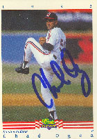 Chad Ogea Kinston Indians - Indians Affiliate 1992 Classic Best Autographed Card - Minor League Card. This item comes with a certificate of authenticity from Autograph-Sports. PSM-Powers Sports Memorabilia