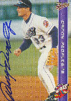 Danny Peoples Akron Aeros - Indians Affiliate 1999 Multi-Ad Sports Autographed Card - Minor League Card. This item comes with a certificate of authenticity from Autograph-Sports. PSM-Powers Sports Memorabilia