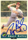 Roger Bailey Colorado Rockies 1992 Classic Draft Picks Autographed Card - Minor League Card. This item comes with a certificate of authenticity from Autograph-Sports. PSM-Powers Sports Memorabilia