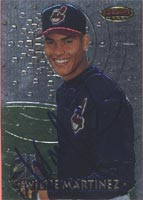 Willie Martinez Cleveland Indians 1997 Bowman Best Foil Autographed Card - Minor League Card. This item comes with a certificate of authenticity from Autograph-Sports. PSM-Powers Sports Memorabilia