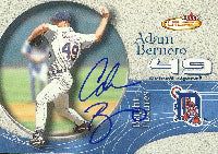 Adam Bernero Detroit Tigers 2001 Fleer Futures Autographed Card - Nice Card. This item comes with a certificate of authenticity from Autograph-Sports. PSM-Powers Sports Memorabilia