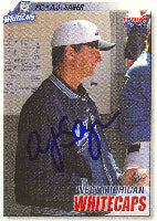 A.J. Sager West Michigan Whitecaps - Tigers Affiliate 2004 Choice Autographed Card - Minor League Card. This item comes with a certificate of authenticity from Autograph-Sports. PSM-Powers Sports Memorabilia