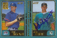 Adam Sterret GCL Marlins - Marlins Affiliate 2001 Topps 50 Years Autographed Card - Minor League Card. This item comes with a certificate of authenticity from Autograph-Sports. PSM-Powers Sports Memorabilia