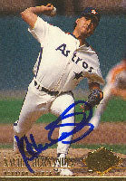 Xavier Hernandez Houston Astros 1994 Fleer Ultra Autographed Card. This item comes with a certificate of authenticity from Autograph-Sports. PSM-Powers Sports Memorabilia