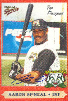 Aaron McNeal Michigan Battle Cats - Astros Affiliate 2000 Multi-Ad Sports Autographed Card - Minor League Card. This item comes with a certificate of authenticity from Autograph-Sports. PSM-Powers Sports Memorabilia