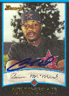 Aaron McNeal Round Rock Express - Astros Affiliate 2001 Bowman Autographed Card - Minor League Card. This item comes with a certificate of authenticity from Autograph-Sports. PSM-Powers Sports Memorabilia
