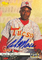 Alvin Morman Tucson Toros - Astros Affiliate 1994 Classic Autographed Card - Minor League Card. This item comes with a certificate of authenticity from Autograph-Sports. PSM-Powers Sports Memorabilia
