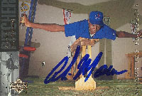 Alvin Morman Jackson Generals - Astros Affiliate 1994 Upper Deck Top Prospects Autographed Card - Minor League Card. This item comes with a certificate of authenticity from Autograph-Sports. PSM-Powers Sports Memorabilia