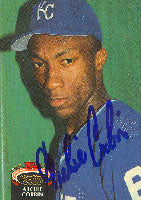 Archie Corbin Kansas City Royals 1992 Topps Stadium Club Autographed Card. This item comes with a certificate of authenticity from Autograph-Sports. PSM-Powers Sports Memorabilia