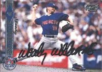 Woody Williams Toronto Blue Jays 1999 Pacific Autographed Card. This item comes with a certificate of authenticity from Autograph-Sports. PSM-Powers Sports Memorabilia