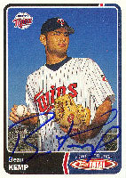 Beau Kemp Fort Myers Miracle - Twins Affiliate 2003 Topps Total Autographed Card - Minor League Card. This item comes with a certificate of authenticity from Autograph-Sports. PSM-Powers Sports Memorabilia