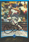 Andy Tracy Montreal Expos 2001 Bowman Autographed Card. This item comes with a certificate of authenticity from Autograph-Sports. PSM-Powers Sports Memorabilia