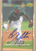 B.J. Upton Tampa Bay Devil Rays 2007 Upper Deck Autographed Card - Nice Card. This item comes with a certificate of authenticity from Autograph-Sports. PSM-Powers Sports Memorabilia