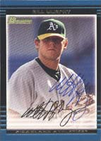 Bill Murphy Oakland Athletics 2002 Bowman Autographed Card - Minor League Card. This item comes with a certificate of authenticity from Autograph-Sports. PSM-Powers Sports Memorabilia