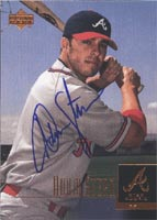 Adam Stern Atlanta Braves 2001 Upper Deck Star Rookie Autographed Card - Rookie Card. This item comes with a certificate of authenticity from Autograph-Sports. PSM-Powers Sports Memorabilia