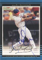 Alex Escobar Cleveland Indians 2002 Bowman Autographed Card - Minor League Card. This item comes with a certificate of authenticity from Autograph-Sports. PSM-Powers Sports Memorabilia