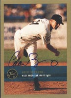 Adam Bernero West Michigan Whitecaps - Tigers Affiliate 2000 Just Autographed Card - Minor League Card. This item comes with a certificate of authenticity from Autograph-Sports. PSM-Powers Sports Memorabilia