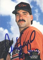 Anthony Telford Baltimore Orioles 1992 Stadium Club Autographed Card. This item comes with a certificate of authenticity from Autograph-Sports. PSM-Powers Sports Memorabilia