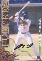 Aaron McNeal San Diego Padres 2001 Royal Rookies Autographed Card - Rookie Card. This item comes with a certificate of authenticity from Autograph-Sports. PSM-Powers Sports Memorabilia