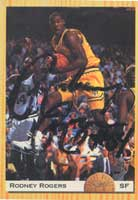 Rodney Rogers Denver Nuggets 1993 Classic Draft Picks Autographed Card - Draft Pick Card. This item comes with a certificate of authenticity from Autograph-Sports. PSM-Powers Sports Memorabilia