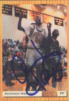 Antonio Harvey Los Angeles Lakers 1993 Classic Draft Picks Autographed Card. This item comes with a certificate of authenticity from Autograph-Sports. PSM-Powers Sports Memorabilia