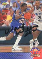 Walt Williams Sacramento Kings 1993 UD Top Prospects Autographed Card. This item comes with a certificate of authenticity from Autograph-Sports. PSM-Powers Sports Memorabilia