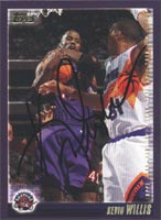 Kevin Willis Toronto Raptors 2000 Topps Autographed Card. This item comes with a certificate of authenticity from Autograph-Sports. PSM-Powers Sports Memorabilia