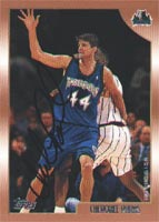 Cherokee Parks Minnesota Timberwolves 1999 Topps Autographed Card. This item comes with a certificate of authenticity from Autograph-Sports. PSM-Powers Sports Memorabilia