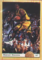 Rodney Rogers Denver Nuggets 1993 Classic Draft Pick Autographed Card - Rookie Card. This item comes with a certificate of authenticity from Autograph-Sports. PSM-Powers Sports Memorabilia