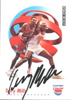 Terry Mills New Jersey Nets 1991 Skybox Autographed Card - Rookie Card. This item comes with a certificate of authenticity from Autograph-Sports. PSM-Powers Sports Memorabilia