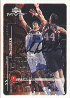 Andrew DeClerq Cleveland Cavaliers 1999 Upper Deck MVP Autographed Card. This item comes with a certificate of authenticity from Autograph-Sports. PSM-Powers Sports Memorabilia