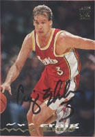 Craig Ehlo Atlanta Hawks 1994 Stadium Club Autographed Card. This item comes with a certificate of authenticity from Autograph-Sports. PSM-Powers Sports Memorabilia