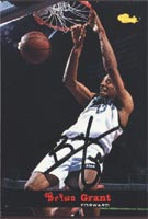 Brian Grant Sacramento Kings 1994 Classic Autographed Card - Rookie Card. This item comes with a certificate of authenticity from Autograph-Sports. PSM-Powers Sports Memorabilia