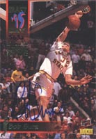 Bob Sura Cleveland Cavaliers 1995 Signatrue Rookie Autographed Card - Rookie Card - Certified Autograph 5632/7750. This item comes with a certificate of authenticity from Autograph-Sports. PSM-Powers Sports Memorabilia