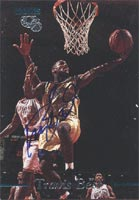 Travis Best Indiana Pacers 1995 Classic Rookies Autographed Card - Certified Autograph - 376 / 1990. This item comes with a certificate of authenticity from Autograph-Sports. PSM-Powers Sports Memorabilia