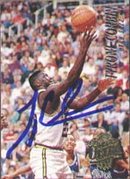 Tyrone Corbin Utah Jazz 1995 Fleer Ultra Autographed Card. This item comes with a certificate of authenticity from Autograph-Sports. PSM-Powers Sports Memorabilia
