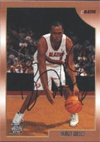 Bonzi Wells Portland Trailblazers 1999 Topps Autographed Card. This item comes with a certificate of authenticity from Autograph-Sports. PSM-Powers Sports Memorabilia