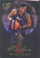 Marcus Camby Toronto Raptors 1997 Fleer Ultra Rookie Autographed Card - Rookie Card. This item comes with a certificate of authenticity from Autograph-Sports. PSM-Powers Sports Memorabilia