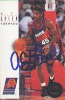 A.C. Green Phoenix Suns 1994 Skybox Autographed Card. This item comes with a certificate of authenticity from Autograph-Sports. PSM-Powers Sports Memorabilia