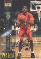 Wesley Person Auburn Tigers - Phoenix Suns 1994 Signature Rookies TETRAD Autographed Card - Certified Autograph - Rookie Card. This item comes with a certificate of authenticity from Autograph-Sports. PSM-Powers Sports Memorabilia