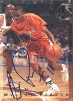 Wesley Person Auburn Tigers - Phoenix Suns 1994 Classic Four Sport Autographed Card - Rookie Card. This item comes with a certificate of authenticity from Autograph-Sports. PSM-Powers Sports Memorabilia