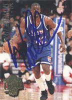 Walt Williams Sacramento Kings 1995 Fleer Ultra Autographed Card. This item comes with a certificate of authenticity from Autograph-Sports. PSM-Powers Sports Memorabilia