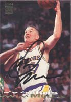 Chris Mullin Golden State Warriors 1994 Stadium Club Autographed Card. This item comes with a certificate of authenticity from Autograph-Sports. PSM-Powers Sports Memorabilia
